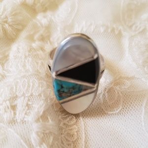 Vintage Jewelry - Inlay Ring